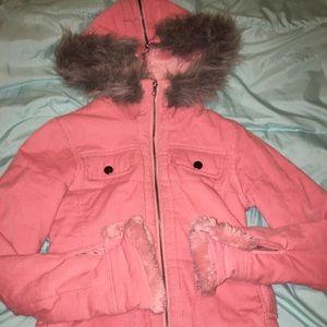 Rue21 Faux Fur Lined Jacket